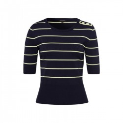 Striped Knitshirt by More & More