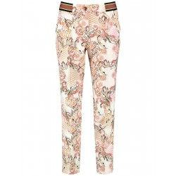 7/8-length trousers with a fashionable pattern by Gerry Weber Collection