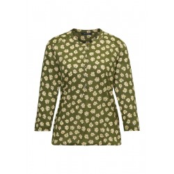Blouse top made from pure cotton by Marc O'Polo