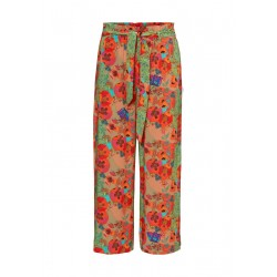Trousers In printed viscose fabric by Marc O'Polo