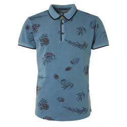 Polo mit Muster by No Excess
