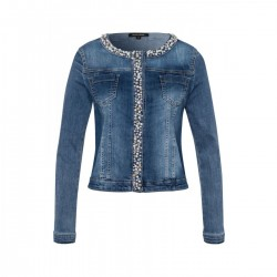 Decorated denim jacket by More & More
