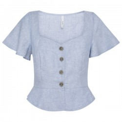 Linen blouse EMILY by Pepe Jeans London