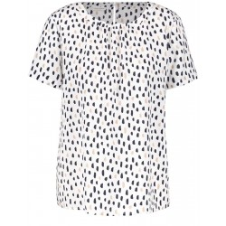 1/2-sleeve blouse with polka dots by Gerry Weber Collection