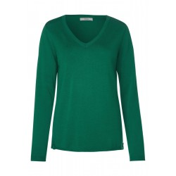 Basic V-Neck Pullover by Cecil