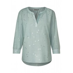 Chambray blouse by Street One
