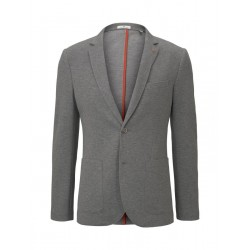 Blazer piqué texturé by Tom Tailor