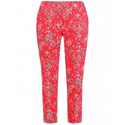 7/8 trousers with a floral print, Greta by Samoon