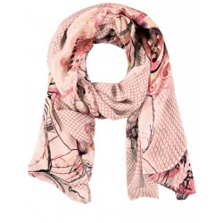 Scarf with flower tendrils by Gerry Weber Collection