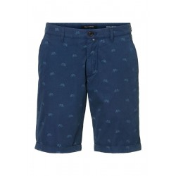 Regular RESO chino shorts With a casual all-over print by Marc O'Polo