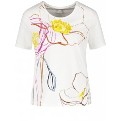 1/2 Arm Shirt mit großer Blüte by Gerry Weber Casual