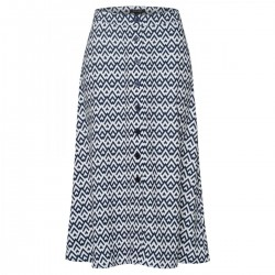 Geometric zig-zag skirt by More & More