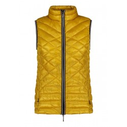 Quilted body warmer by Gil Bret