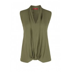 Sleeveless blouse by s.Oliver Red Label
