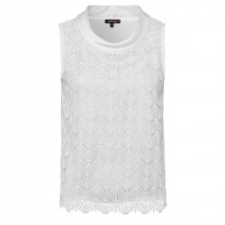 Shirt with lace front by More & More