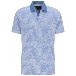Polo with palm print by Fynch Hatton