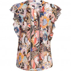 Printed blouse by Summum Women