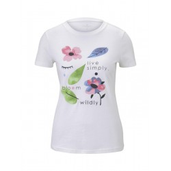 T-shirt à imprimé floral by Tom Tailor