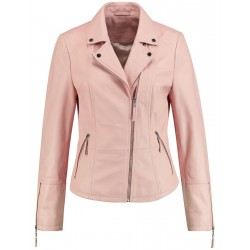 Nappa leather biker jacket by Gerry Weber Collection