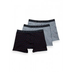 3-Pack Printed Jersey Boxer Shorts by Scotch & Soda