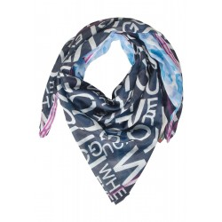 Patched print scarf by Street One