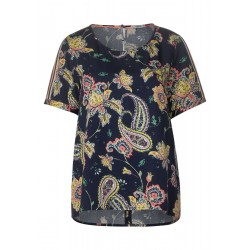 Paisley Shirt Blouse by Cecil