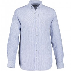 Striped shirt with chest pocket by State of Art