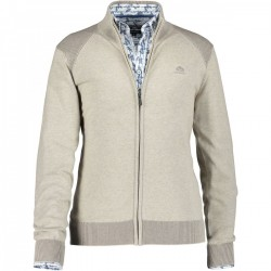 Cardigan coton with zipper by State of Art
