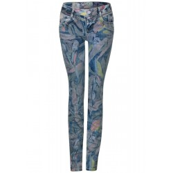 Denim floral Jane by Street One
