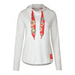 Hoodie shirt with paisley by Cecil