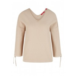 3/4-length sleeve jumper with gathering by s.Oliver Red Label