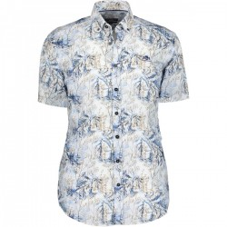 Shirt with a botanic print by State of Art