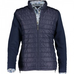 Cardigan sweat with zipper by State of Art