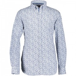 Poplin shirt with floral print by State of Art