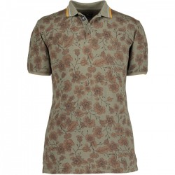 Poloshirt Pique Short Sleeve Print by State of Art