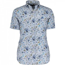 Shirt with medium cut away collar by State of Art