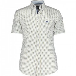 Shirt with print and chest pocket by State of Art