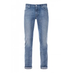 Slim-fit jeans in stretch cotton by Alberto Jeans