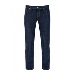 Jeans im Regular Slim Fit aus Baumwoll-Stretch by Alberto Jeans