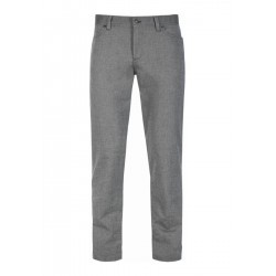 Regular slim fit trousers in stretch cotton by Alberto Jeans