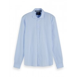 Chemise en coton stretch by Scotch & Soda