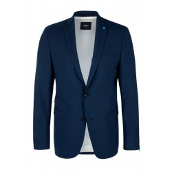 Slim : veston à teneur en laine vierge by s.Oliver Black Label