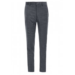 Slim Fit: Trousers in a new wool blend by s.Oliver Black Label