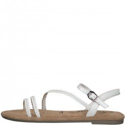 Leather sandals by Tamaris