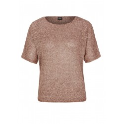 Pull-over à manches courtes orné de fil brillant by s.Oliver Black Label