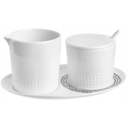 Milk and sugar set (17x11x7cm) by Räder