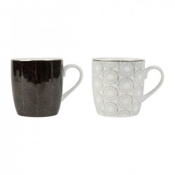 Set of 2 cups (Ø8,5x9cm) by SEMA Design