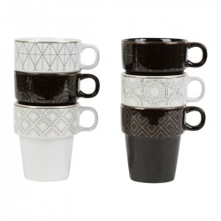 Set of 6 mugs by SEMA Design