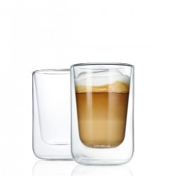 Cappuccino glass set by Blomus