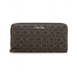 Wallet with logo print by Calvin Klein